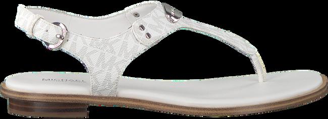 Weiße MICHAEL KORS Sandalen MK PLATE THONG  - large