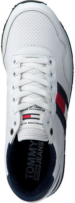 Weiße TOMMY HILFIGER Sneaker LIFESTYLE  - large
