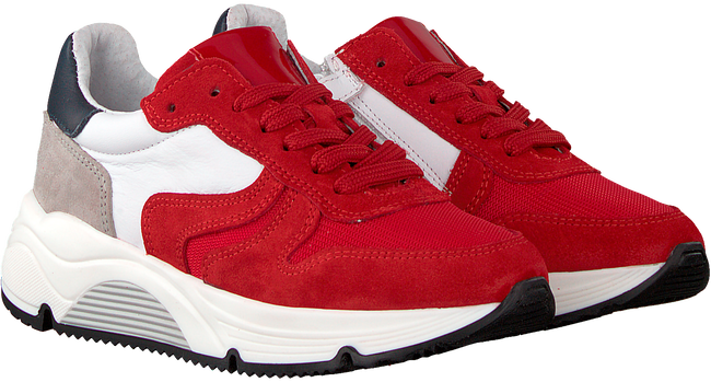 Rote HIP Sneaker low H1343  - large
