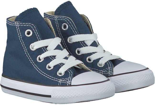 Blaue CONVERSE Sneaker CHUCK TAYLOR ALL STAR HI KIDS - large