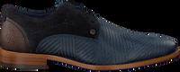 Blaue REHAB Business Schuhe SOLO ZIGZAG  - medium