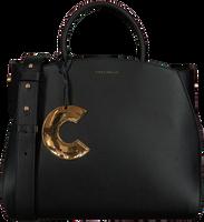 Schwarze COCCINELLE Handtasche CONCRETE 1801  - medium