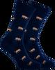 Blaue MARCMARCS Socken RED DALLAS  - small