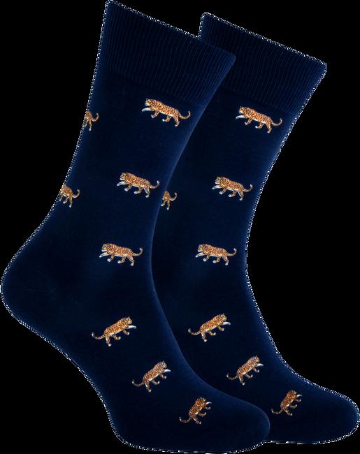 Blaue MARCMARCS Socken RED DALLAS  - large