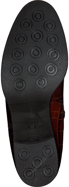 Cognacfarbene GABOR Chelsea Boots 650  - large