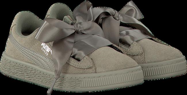 Graue PUMA Sneaker SUEDE HEART SNK PS - large