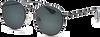 Schwarze IKKI Sonnenbrille VOLPE - small