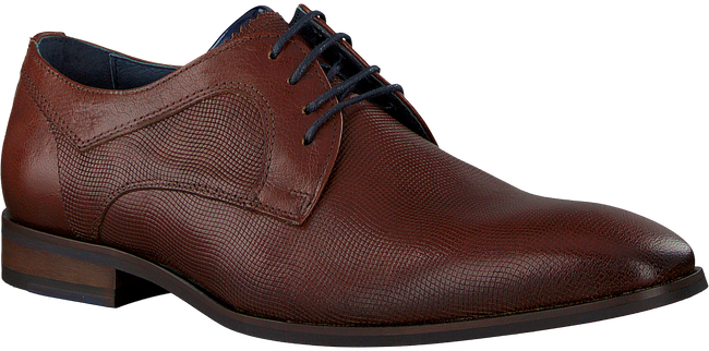 Cognacfarbene OMODA Business Schuhe MLUCY - large