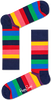 Mehrfarbige/Bunte HAPPY SOCKS Socken STRIPE SOCK - small