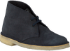 Blaue CLARKS Ankle Boots DESERT BOOT DAMES - small