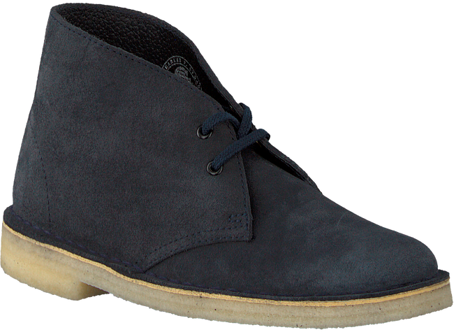 Blaue CLARKS Ankle Boots DESERT BOOT DAMES - large