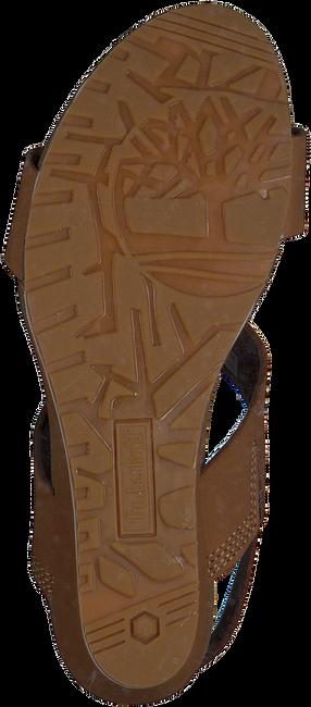 Braune TIMBERLAND Sandalen CAPRI SUNSET WEDGE - large