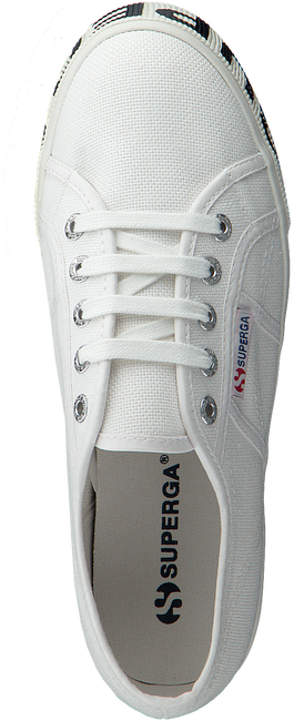 Weiße SUPERGA Sneaker 2790 COTW OUTSOLE LETTERING  - large