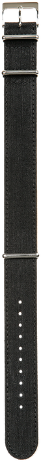 Schwarze TIMEX Sonstige OILED CANVAS 20MM - large