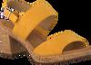 Gelbe GABOR Sandalen 775  - small