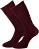 Rote MARCMARCS Socken GWEN 2-PACK LANG - small