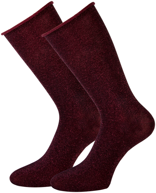 Rote MARCMARCS Socken GWEN 2-PACK LANG - large