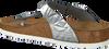 Silbernen BIRKENSTOCK PAPILLIO Slipper GIZEH SPECTRAL - small