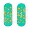 Grüne HAPPY SOCKS Socken PIZZA LINER  - small