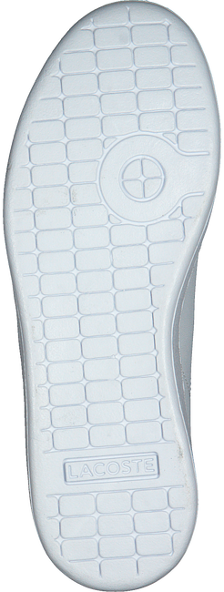 Weiße LACOSTE Sneaker CARNABY EVO BL  - large