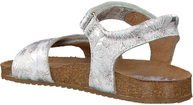 Silberne CLIC! Sandalen GRASS - large