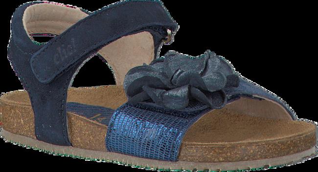 Blaue CLIC! Sandalen GARDEN - large