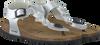 Silberne WARMBAT Sandalen 081509 - small