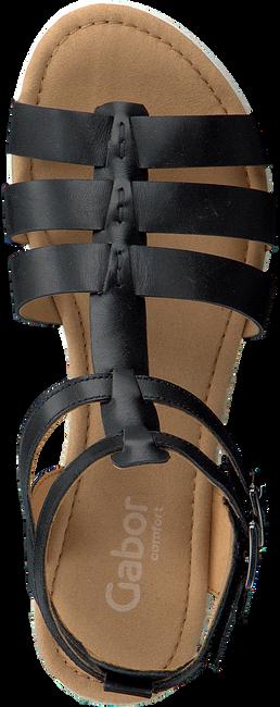 Schwarze GABOR Sandalen 744 - large
