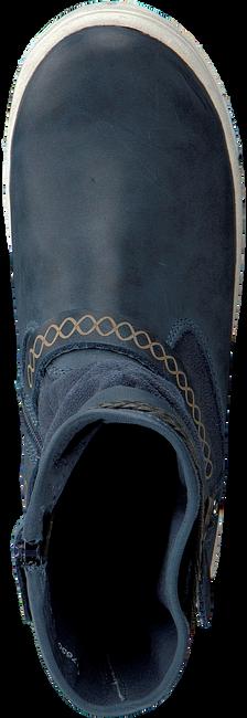 Blaue BRAQEEZ Langschaftstiefel 417650 - large