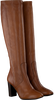 Cognacfarbene NOTRE-V Hohe Stiefel AH201  - small