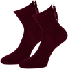 Rote MARCMARCS Socken KIRSTEN - small