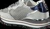 Silberne CRIME LONDON Sneaker DYNAMIC PAILETTES - small