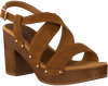 Braune UNISA Sandalen TERRAT  - small