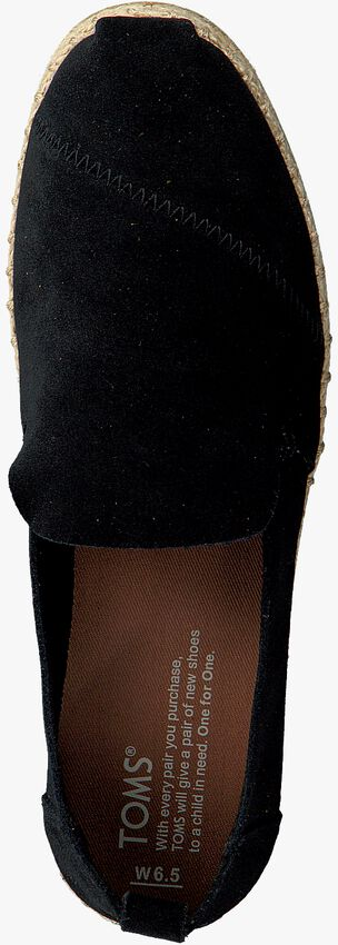 Schwarze TOMS Espadrilles DECONSTRUCTED ALPARGATA W - larger