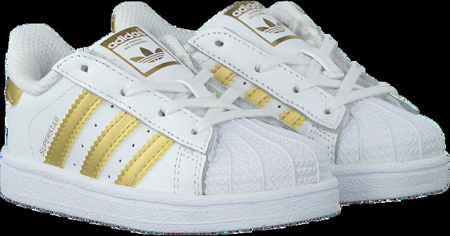 Weiße ADIDAS Sneaker SUPERSTAR KIDS 1 - large