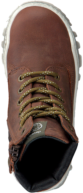 Cognacfarbene DEVELAB Sneaker 41731 - large