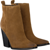 Cognacfarbene KENDALL & KYLIE Stiefeletten KKCLIVE - small