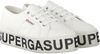 Weiße SUPERGA Sneaker 2790 COTW OUTSOLE LETTERING  - small
