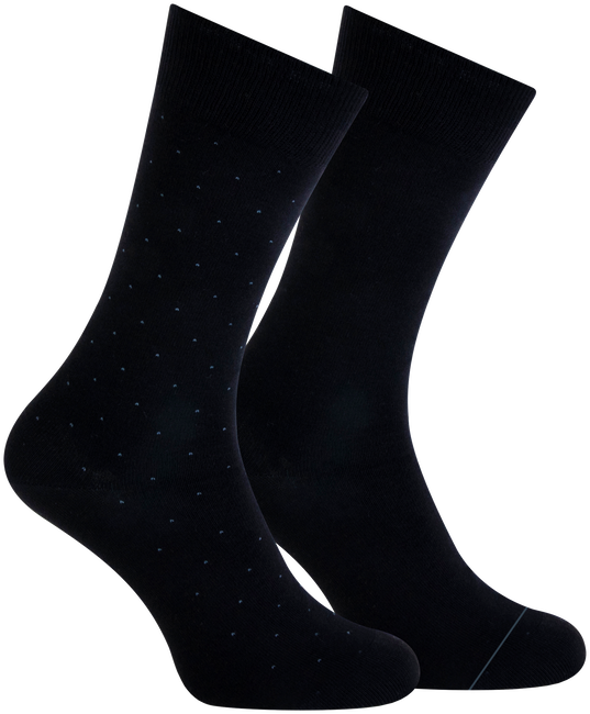 Schwarze MARCMARCS Socken ANDREAS  - large