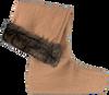 Braune DUBARRY Socken CHEETAH - small
