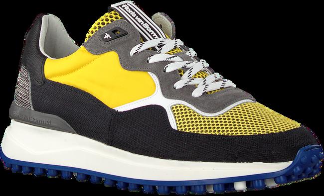 Gelbe FLORIS VAN BOMMEL Sneaker low 16301  - large