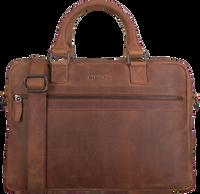 Braune MAZZELTOV Laptoptasche 18296  - medium