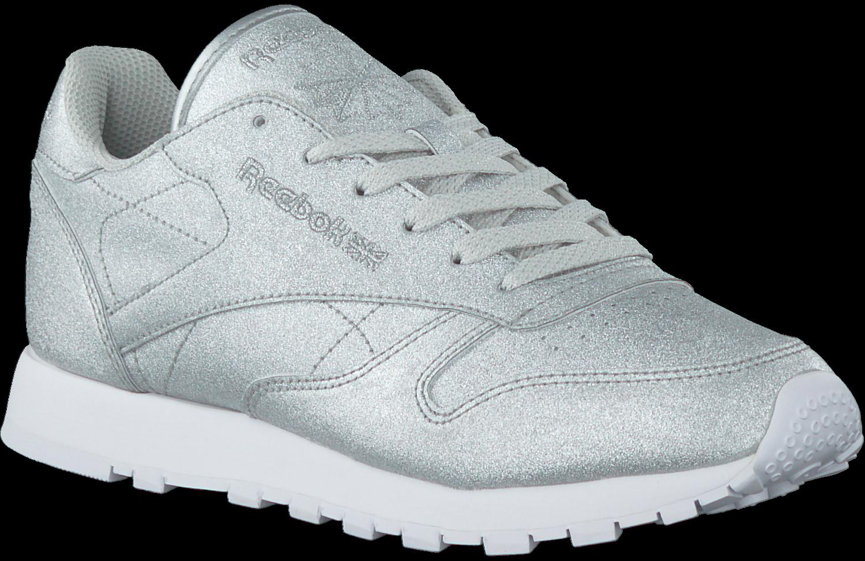 57ccfade8301 Silberne REEBOK Sneaker CL LEATHER WMN. REEBOK. -50%. Previous