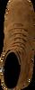 Cognacfarbene LOLA CRUZ Stiefeletten 392T30BK-D-I19  - small