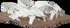 Weiße LAZAMANI Sandalen 75.630  - small