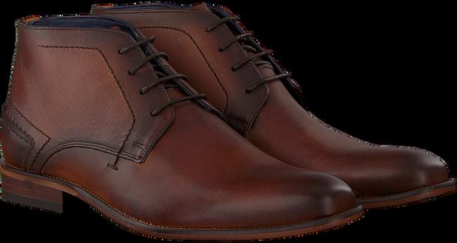 Cognacfarbene OMODA Business Schuhe OMODA 36493 - large