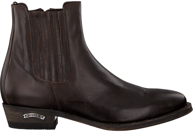 Braune SENDRA Chelsea Boots 12102 - large