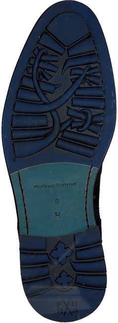 Blaue FLORIS VAN BOMMEL Schnürboots 10506  - large