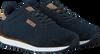 Blaue WODEN Sneaker YDUN SUEDE MESH  - small
