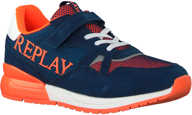 Blaue REPLAY Sneaker low CARDIFF JR  - large
